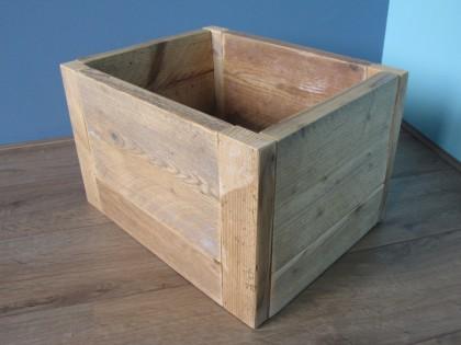Kistje van Steigerhout