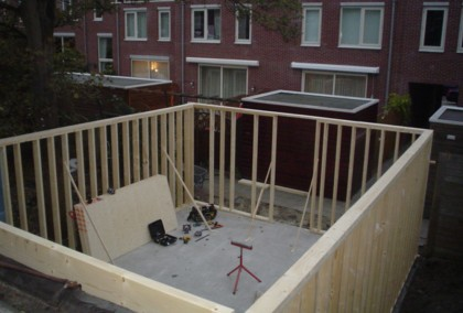 Aanbouw Den Haag